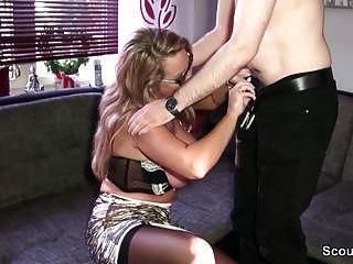 milf alemão seduzir rapaz estranho para foder de scout69