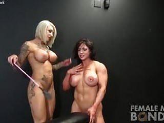 fisiculturistas femininos nus jogar bondage