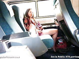 dona de casa se masturba em um trem enquanto marido filmes