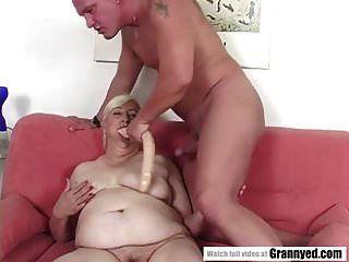 avó gorda fodida duramente