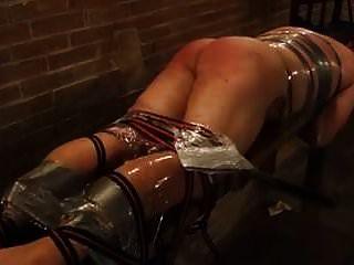 caning intenso para escravo