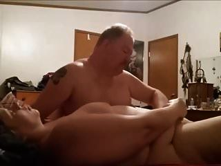 casal gordo foda