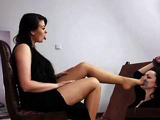 polonês menina tan fedorento nylon culto