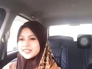 hijabitch bigo belanja sambil dirigir