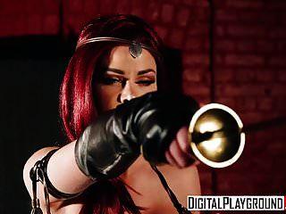 xxx vídeo pornô vermelho maiden uma dp paródia com jessa rhodes ma