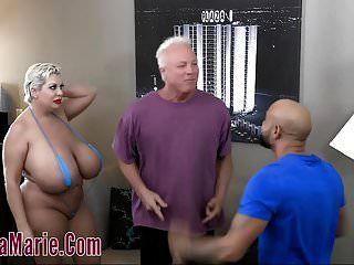 teta enorme claudia marie sexo violento threesome