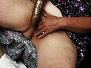velha vovó peluda gosta de porra