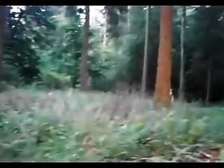 ruiva amador babe grande garrafa porra na floresta