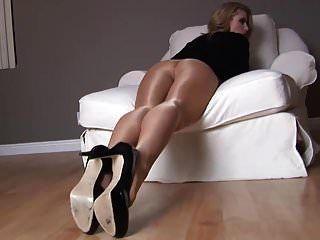 caber gata randy mostrar pernas longas em nylon # mrbrain1988