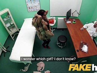 falso hospital pele sexy vestido paciente quer boa porra