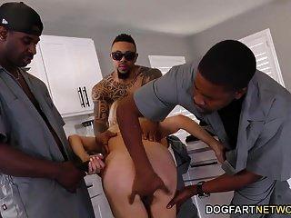 puta anal cougar erica lauren gangbang interracial