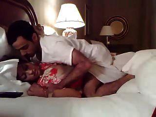 novo casado casal indiano sexo no hotel