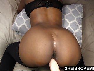 sexy ebony msnovember tomar anal dildo doggystyle ao vivo na webcam