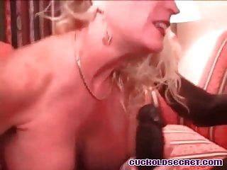 mulher cuckold sissys vem para ela relógios marido bbc touro