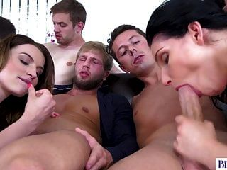 orgia anal bissexual