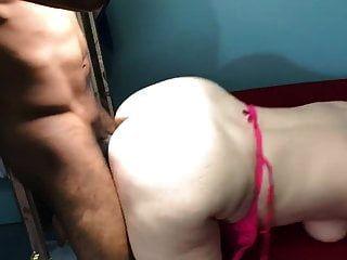 sexy loira gosta de foder grande galo negro
