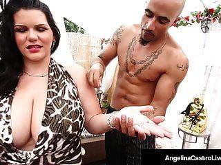 dicktaster cubano angelina castro fica gelado até sua buceta