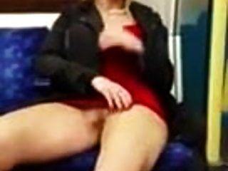 diversão em um trem