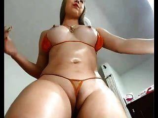 garota sexy de curvas