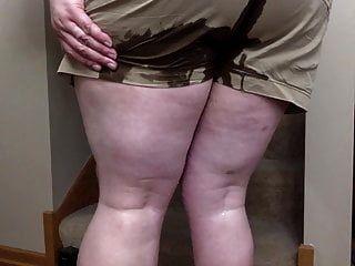 mijando commando no meu shorts
