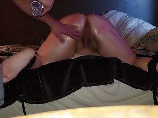 bbw sexy espancado, amarrado e rosto coberto de cum (pré-visualização)